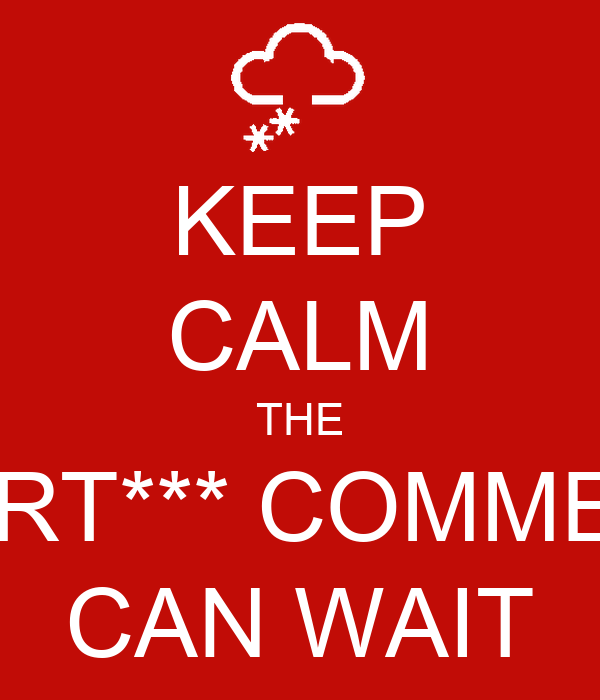 keep calm the smart comments can wait poster farah