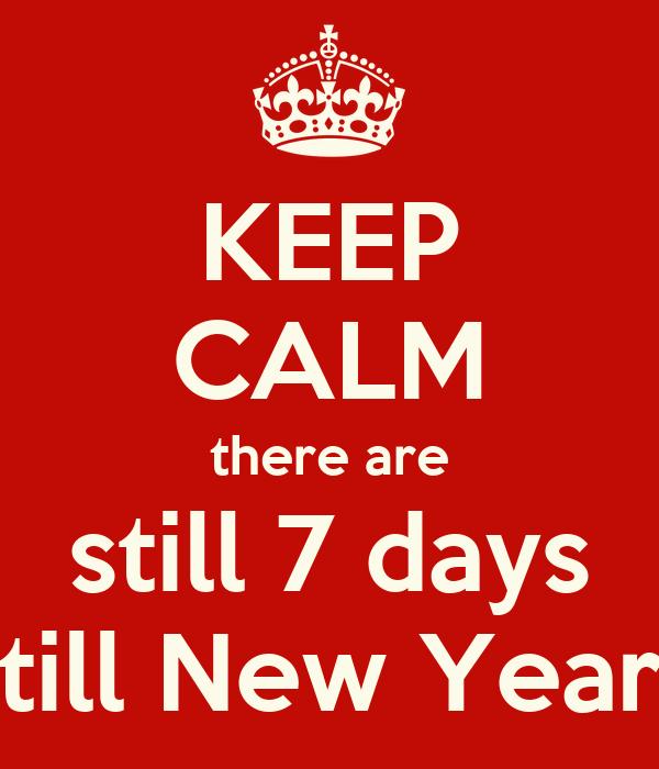 Days till new year