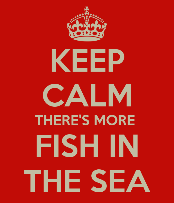 keep calm there 39 s more fish in the sea poster toya b