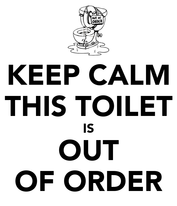 Toilet out of order sign www imgkid the image kid Printable bathroom out of order sign