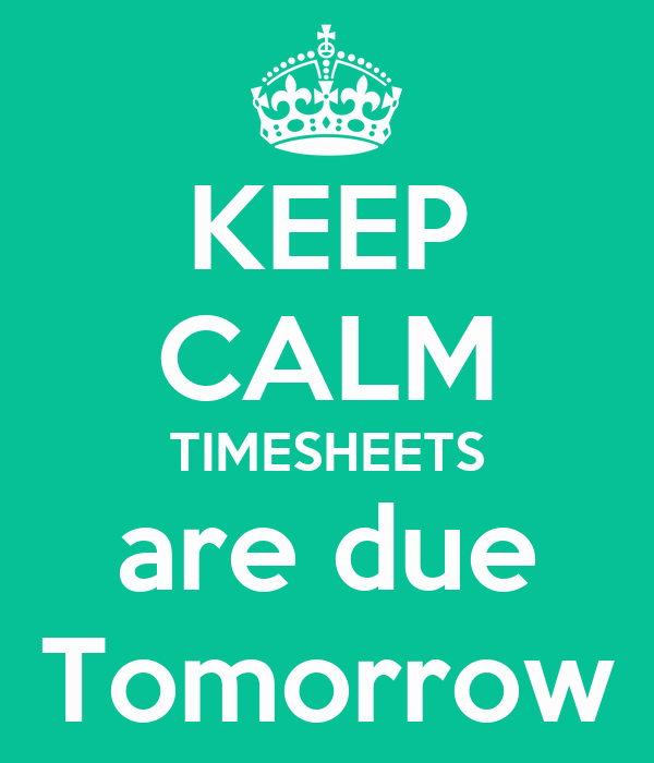 due tomorrow