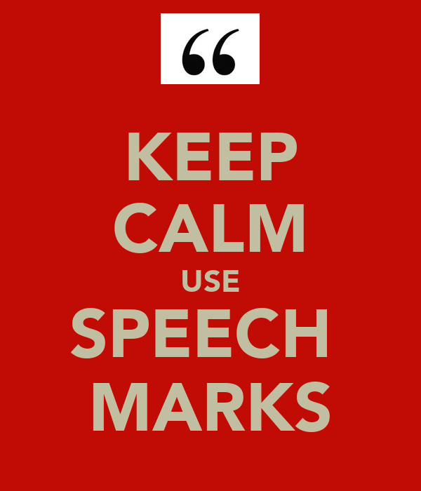 quotation marks and punctuation