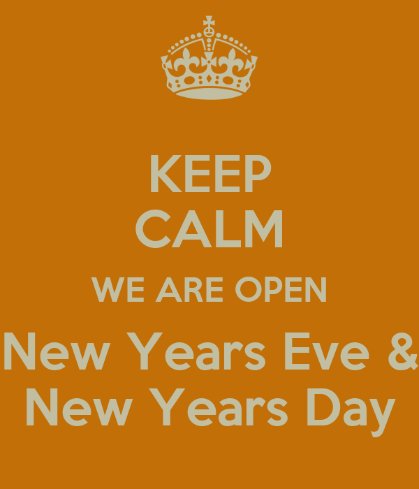 What Is Open On New Years Eve