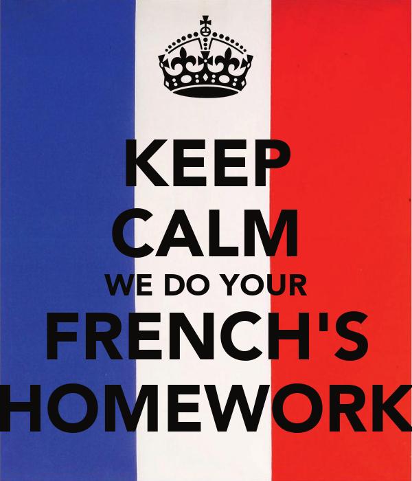 Primary homework help france