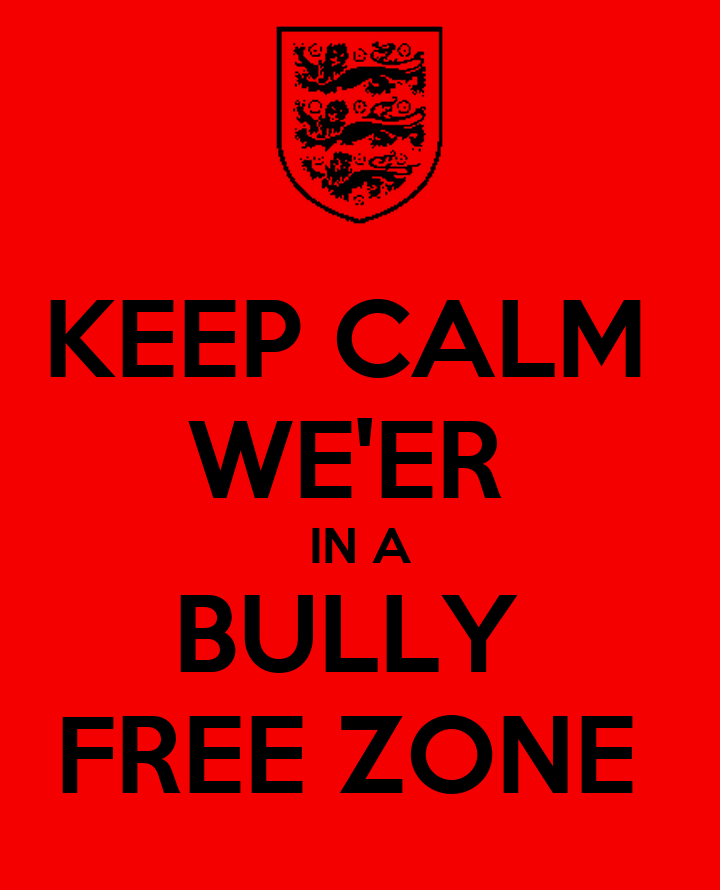 Free coloring pages of bully free zone