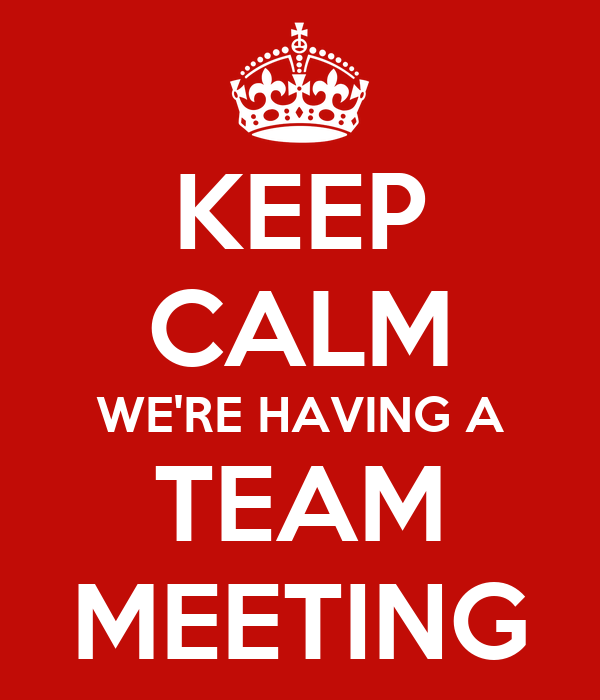 team meeting topics