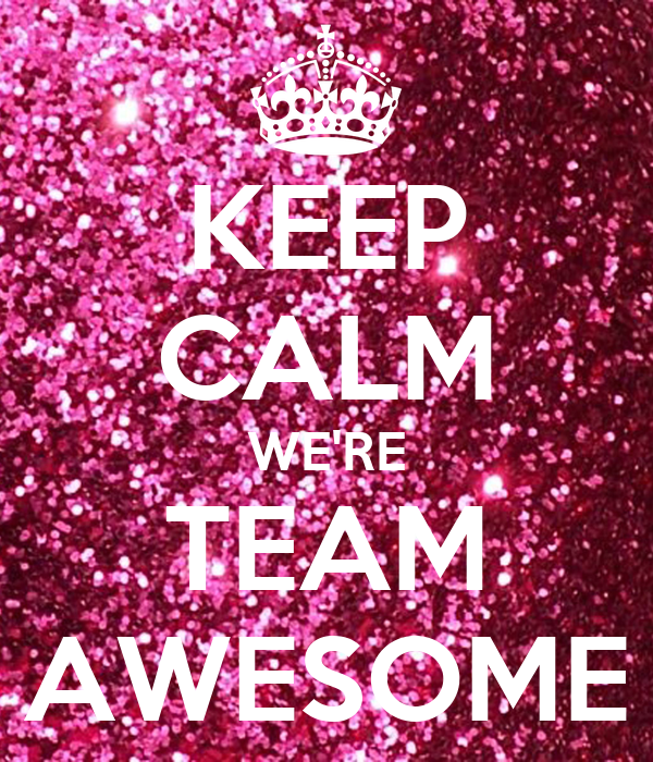 Image result for team awesome glitter