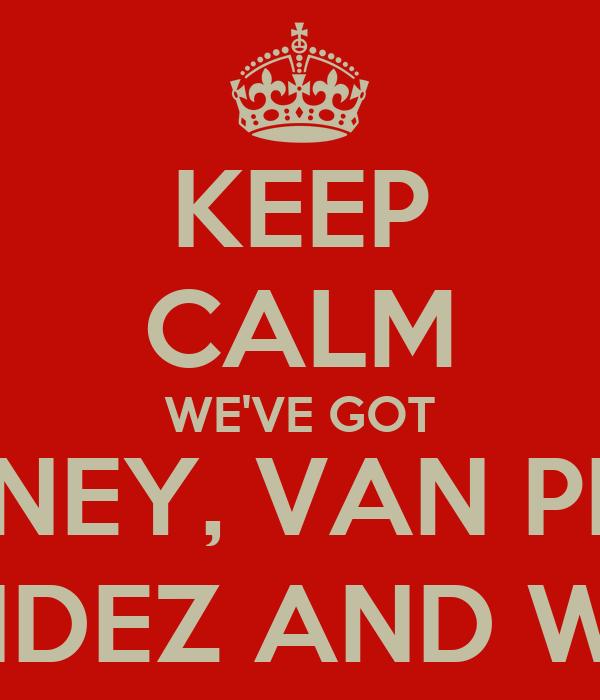 Persie Rooney Got Rooney Van Persie