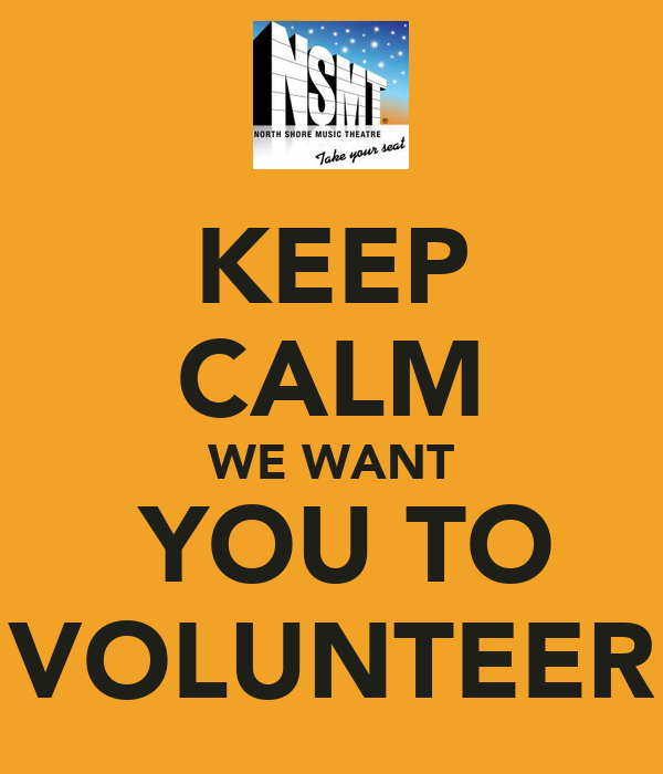 i want you to volunteer - photo #2