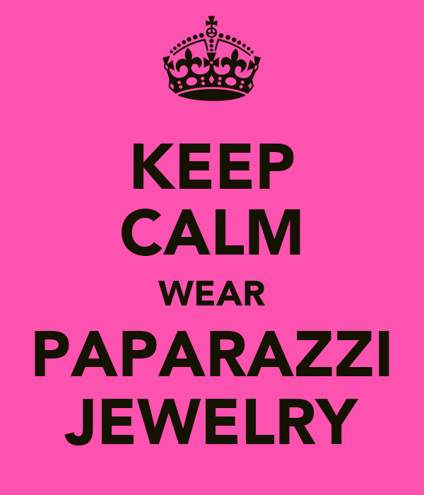 Keep Calm Wear Paparazzi Jewelry Poster Mandy Keep