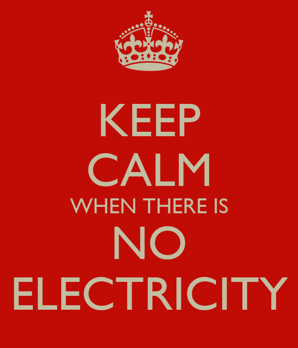 Electricity Down In Manchester