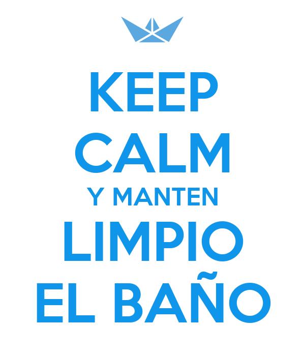 Cortinas De Baño Keep Calm:Manten Limpio El Bano