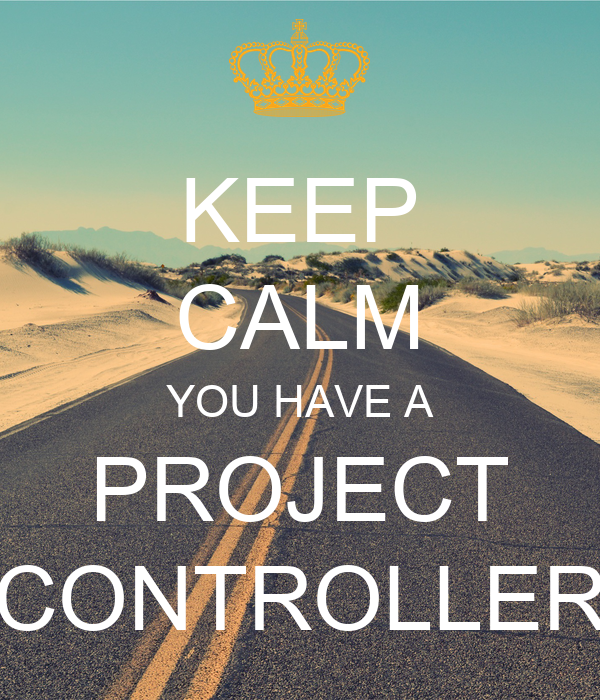 KEEP CALM YOU HAVE A PROJECT CONTROLLER Poster Ali – Project Controller
