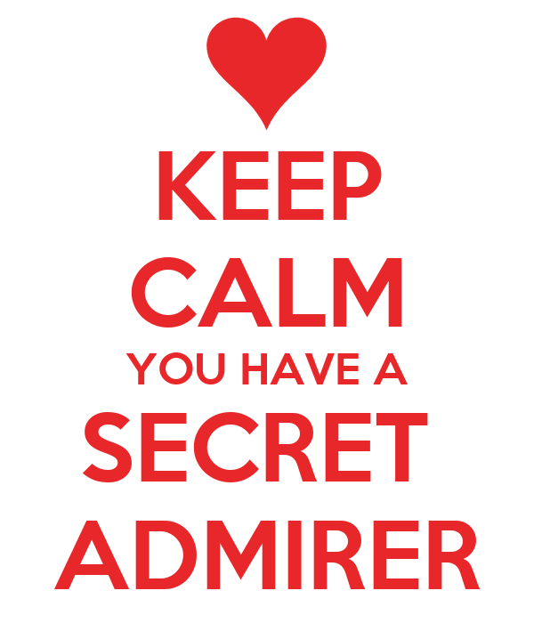 How to be a good secret admirer
