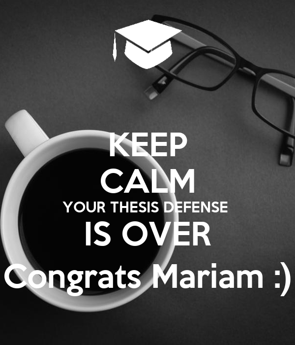 thesis defense poster University of guelph department of history ma thesis defence student: jonathon barraball date: thursday, january 7, 2016 time: 8:00 am place: mckn 132.