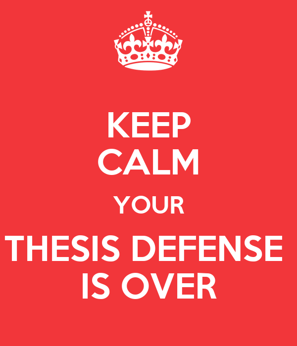 sdsu thesis defense Theses that are resubmitted for review will be given priority status but still require a full review meeting this deadline for thesis review allows you to have the best possibility for graduation during.