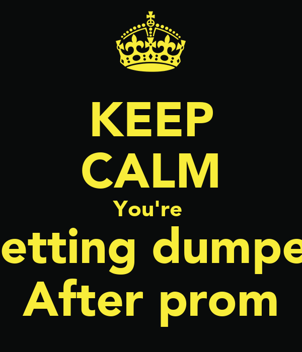 what to do after getting dumped