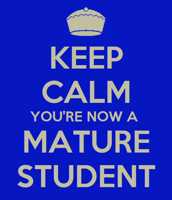 Image result for mature student