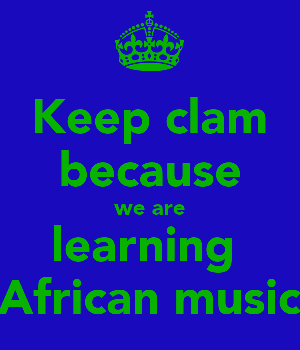 African Music Wallpaper Are Learning African Music