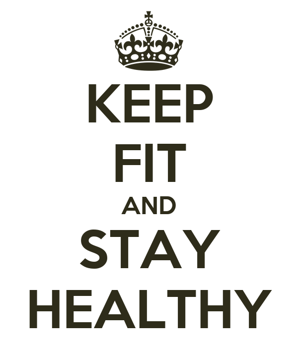 how to stay fit and healthy for kids