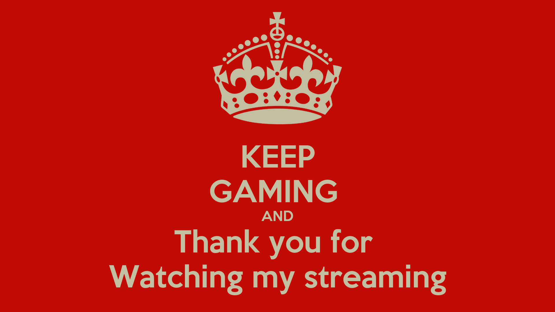 Keep Watching Stream
