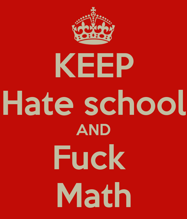 I violently hate calculus and physics - Straight Dope