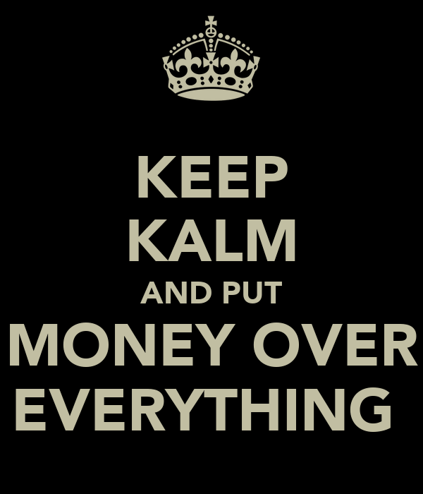 PUT MONEY OVER EVERYTHING Money Over Everything Wallpaper