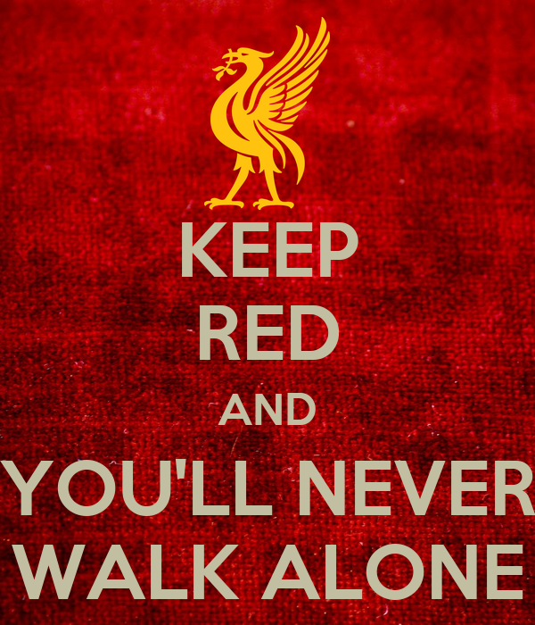 keep red and you 39 ll never walk alone poster mutatantin keep calm o matic. Black Bedroom Furniture Sets. Home Design Ideas