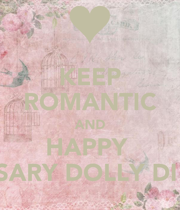 KEEP ROMANTIC AND HAPPY ANNIVERSARY DOLLY DI AND JIJU