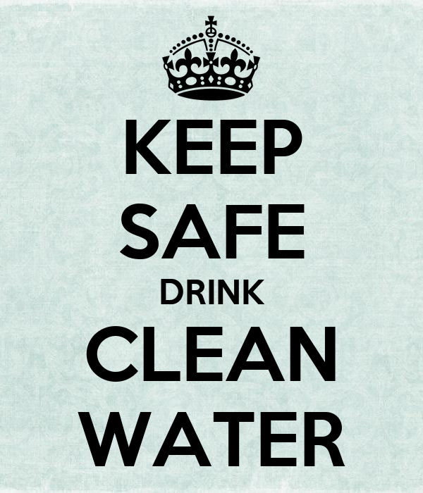 clean safe drinking water essay Is water a human right  clean, safe drinking water  the united nations special rapporteur on the human right to safe drinking water and sanitation.