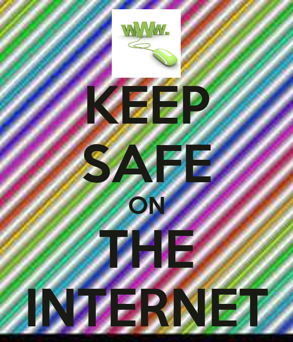 KEEP SAFE ON THE INTERNET Poster | redcat