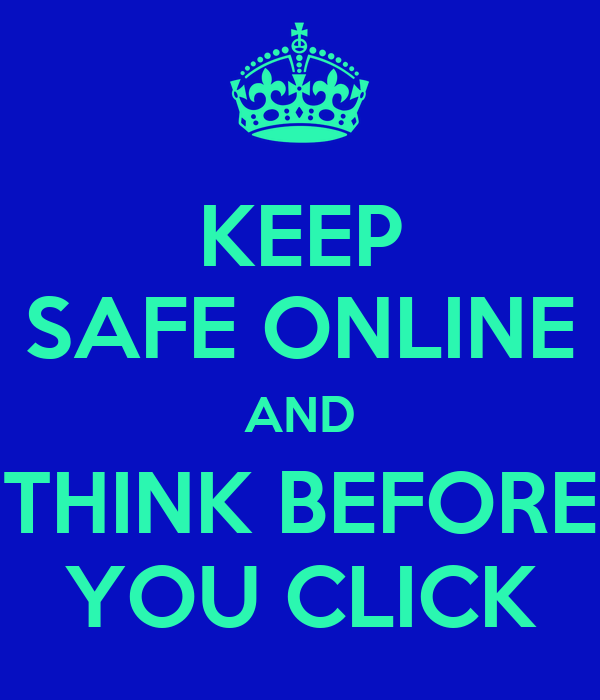 Think before you click