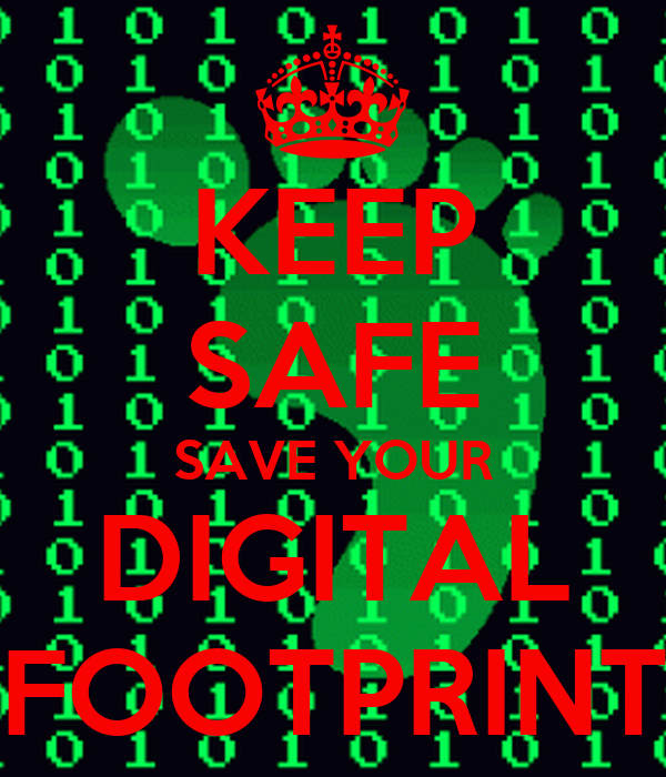 Image result for safe and appropriate digital footprint