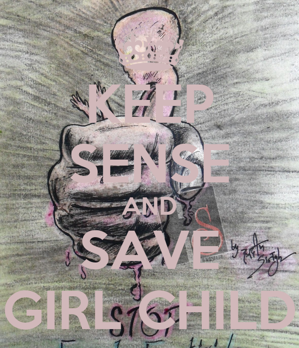 Save Girl Child Posters