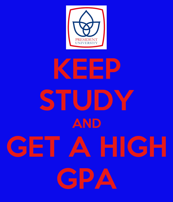 how to get a high gpa