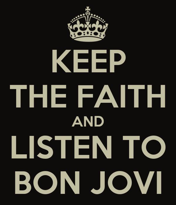 Bon Jovi Scars On This Guitar Song Lyrics: Bonjovi Keep The Faith