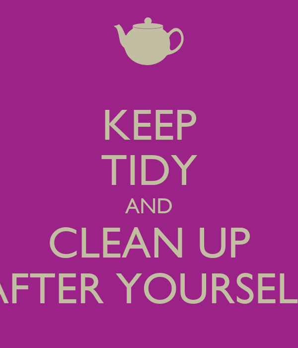 Clean Up After Yourself Clip Art Bing Images