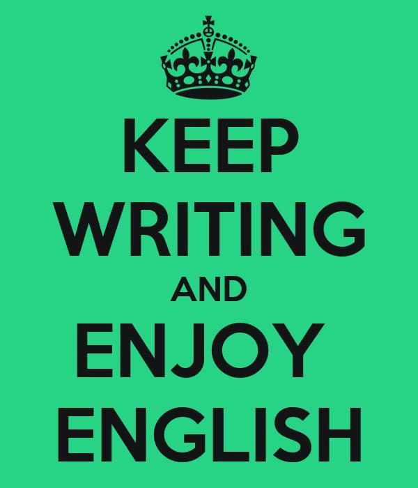 Why I Enjoy Writing