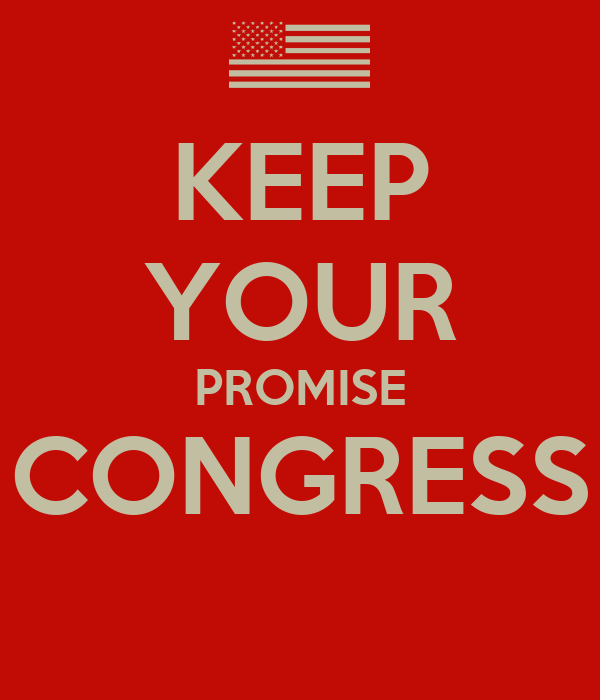 Image result for congress keep your word