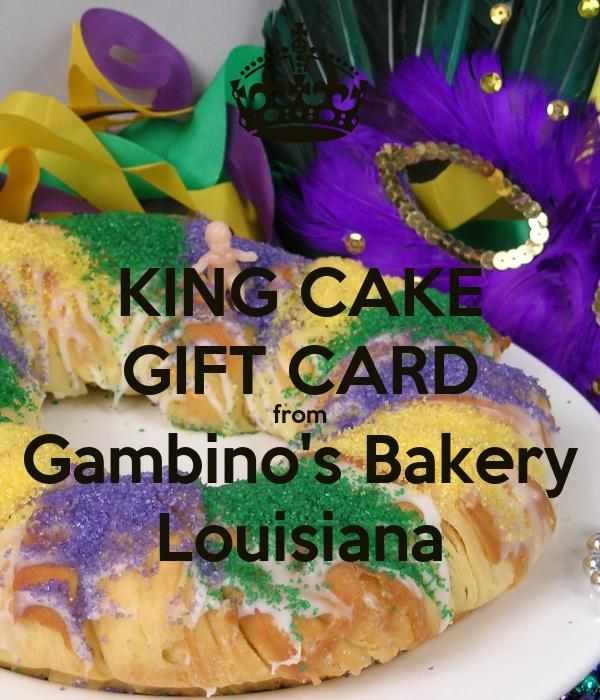Gambinos King Cake