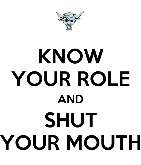 How to Keep Your Mouth Shut