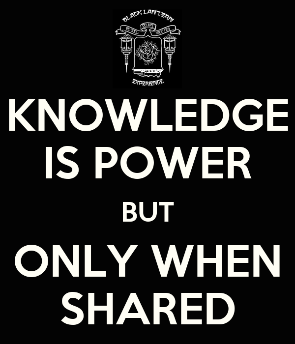 Knowledge is Power Pics Knowledge is Power But Only