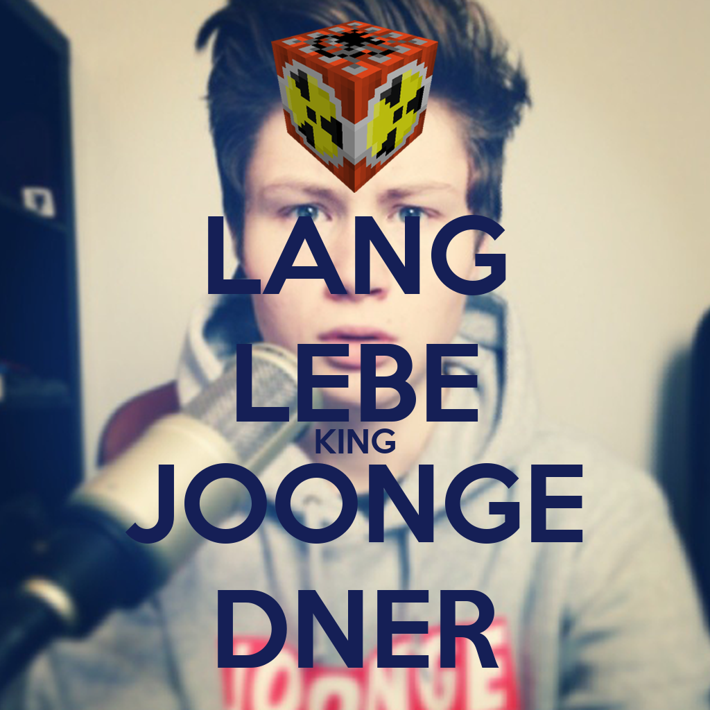 Dner joonge  LANG LEBE KING JOONGE DNER Poster | aminmourad123 | Keep Calm-o-Matic