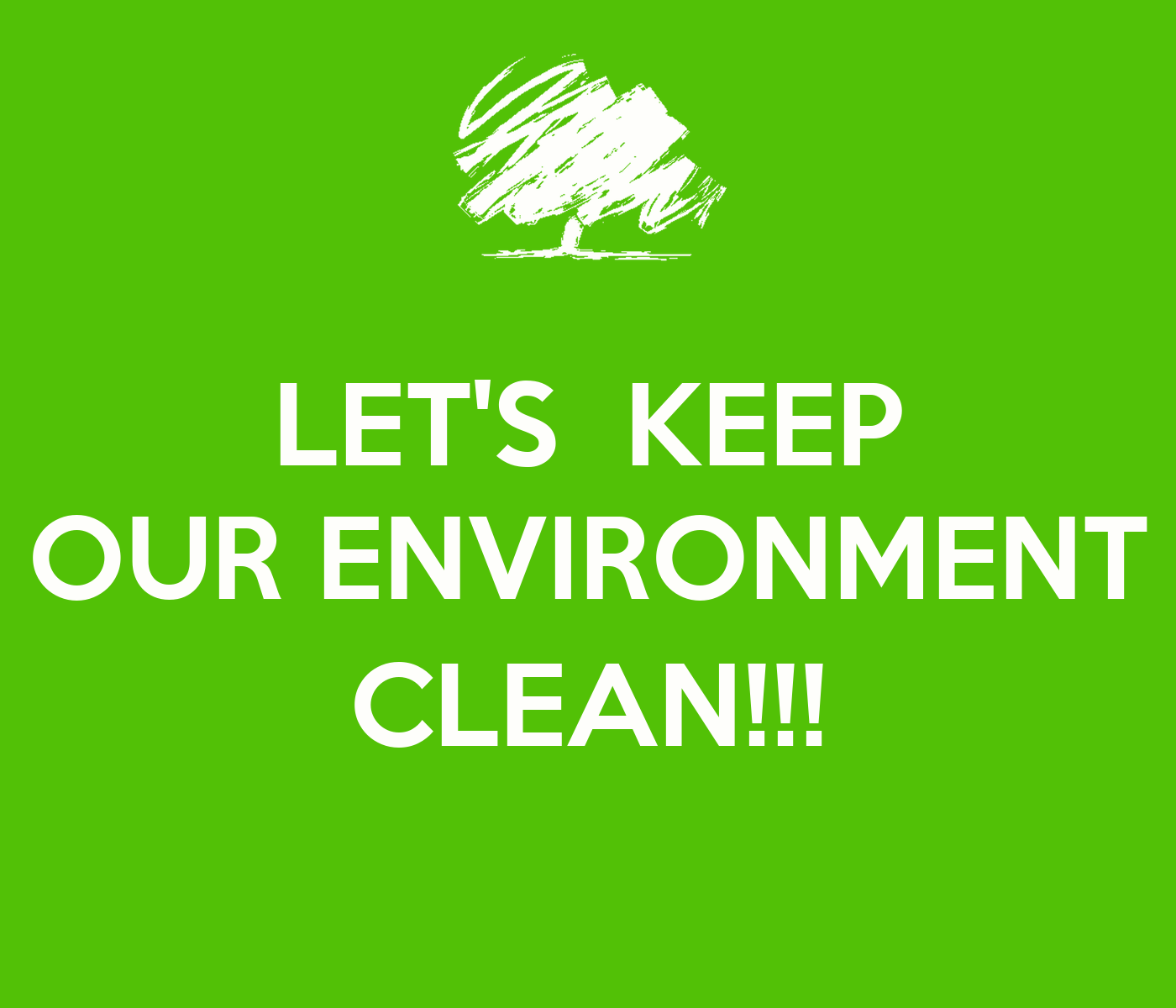 how to keep the environment clean essay