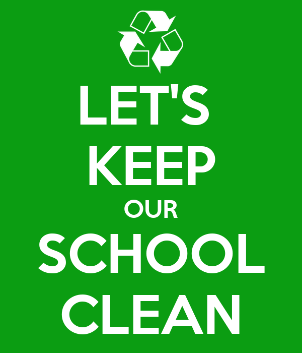 how to make our school green and clean