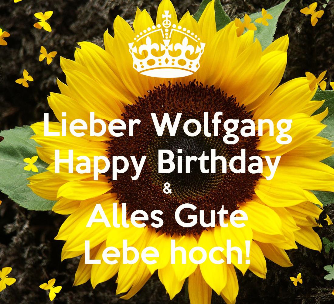 Happy Birthday Alles Gute