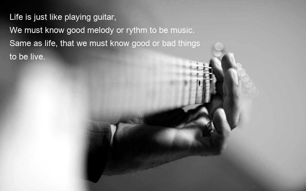 life is like a music essays