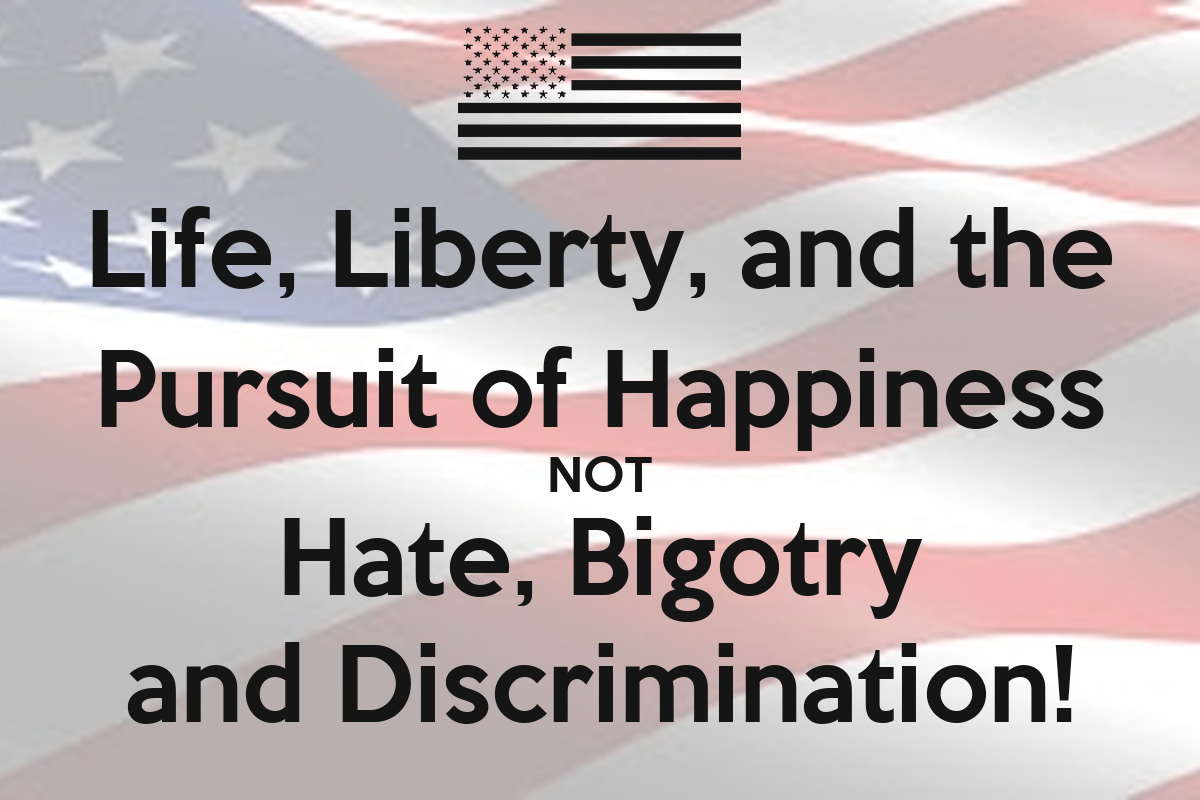 life liberty and the pursuit of happiness Jefferson declared that the pursuit of happiness was an inalienable right, along  with life and liberty the story goes that jefferson, on the advice.