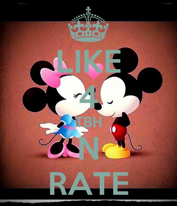 N Rate LIKE 4 TBH N RATE Post...