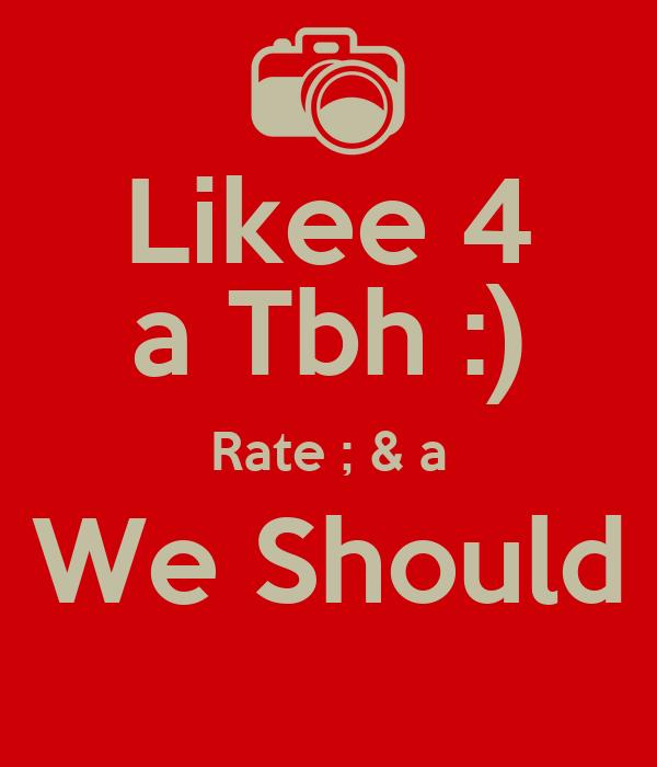 Should we date